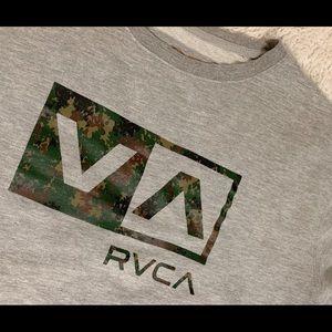 RVCA Cami Logo Sweatshirt